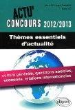Actu' Concours 2012/2013