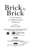Brick by brick:the building of an ASEAN Economic Community
