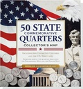 50 State Commemorative Quarters Collector's Map
