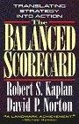 The balanced scorecard:translating strategy into action