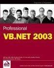 Professional VB.NET 2003