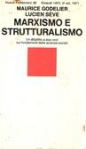 !!!SCHEDA DOPPIA!! Marxismo e strutturalismo