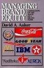 Managing Brand Equity:Caoutalizing on the value of a brand name