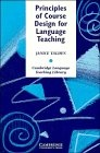 Principles of course design for language teaching