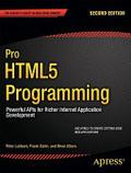 Pro HTML5 programming /