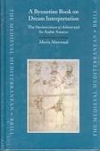 A Byzantine Book on Dream Interpretation