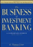 The business of investment banking : : a comprehensive overview