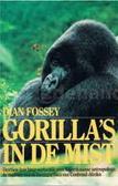 Gorilla's in de mist