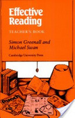 Effective Reading:reading skills for advanced students
