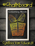 #chalkboard Adult Coloring Book