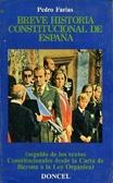 Breve historia constitucional de Espana