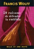 50 raisons de défendre la corrida