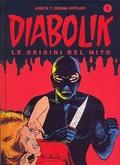 Cover of Diabolik le origini del mito n. 1