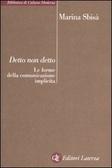 Cover of Detto non detto