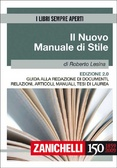 Il nuovo manuale di stile