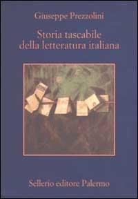 Immagine di Storia tascabile della letteratura italiana