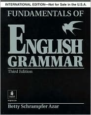 Fundamentals of English Grammar without Answer Key
