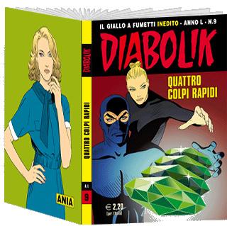 Image of Diabolik anno L n. 9