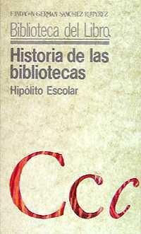 Imatge de Historia de las bibliotecas