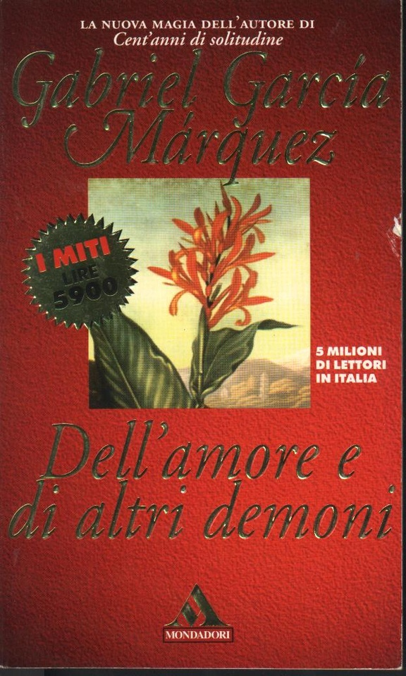 Image of Dell'amore e di altri demoni