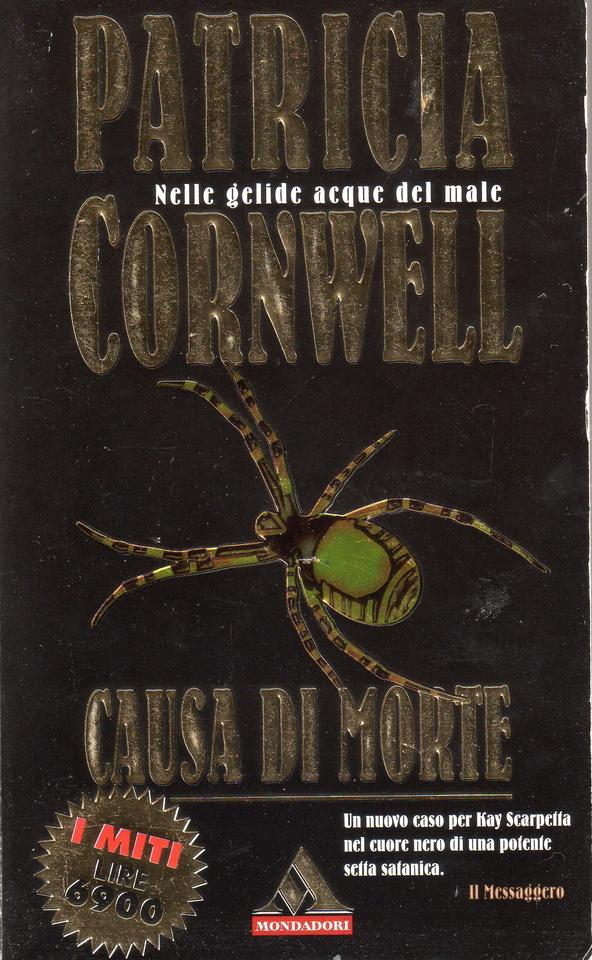 Causa di morte patricia cornwell 68 recensioni su anobii - Patricia cornwell letto di ossa ...