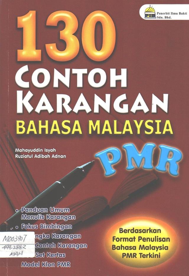130 Contoh Karangan Bahasa Malaysia PMR
