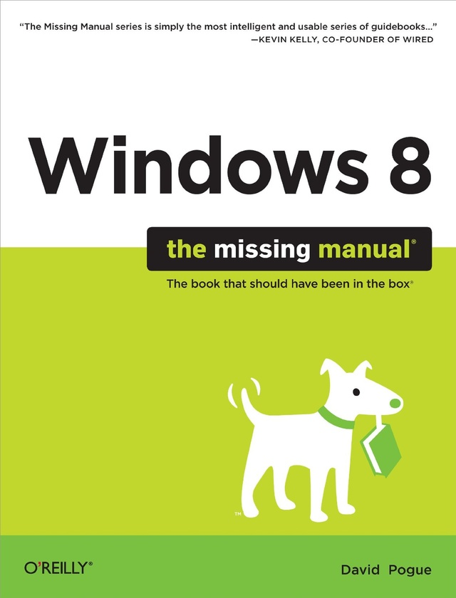 更多有關 Windows 8: The Missing Manual 的事情