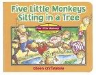 Image of Five Little Monkeys Sitting in a Tree