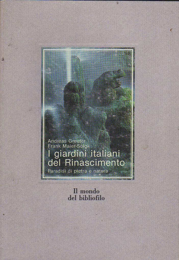 Image of I giardini italiani del Rinascimento