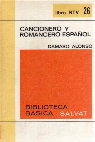 Image of Cancionero y Romancero español