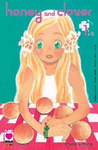 Image of Honey and Clover Vol. 01
