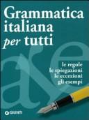 More about Grammatica italiana per tutti