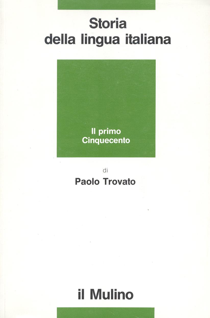 Image of Storia della lingua italiana