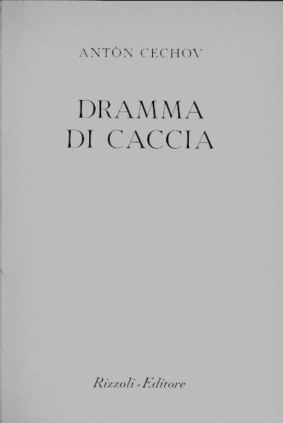 Image of Dramma di caccia