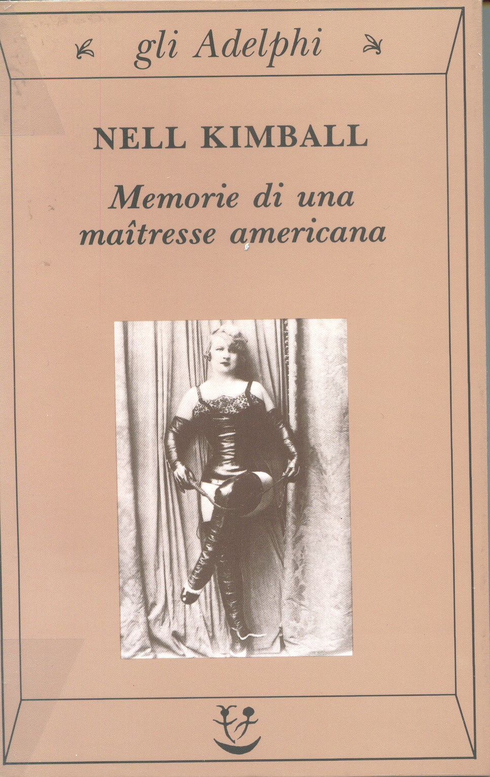 Image of Memorie di una maîtresse americana