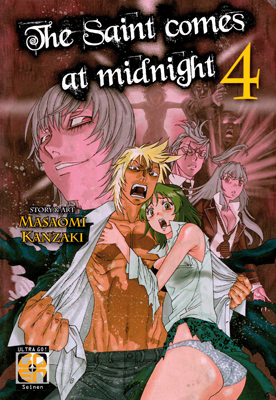Image of The Saint Comes at Midnight vol. 4