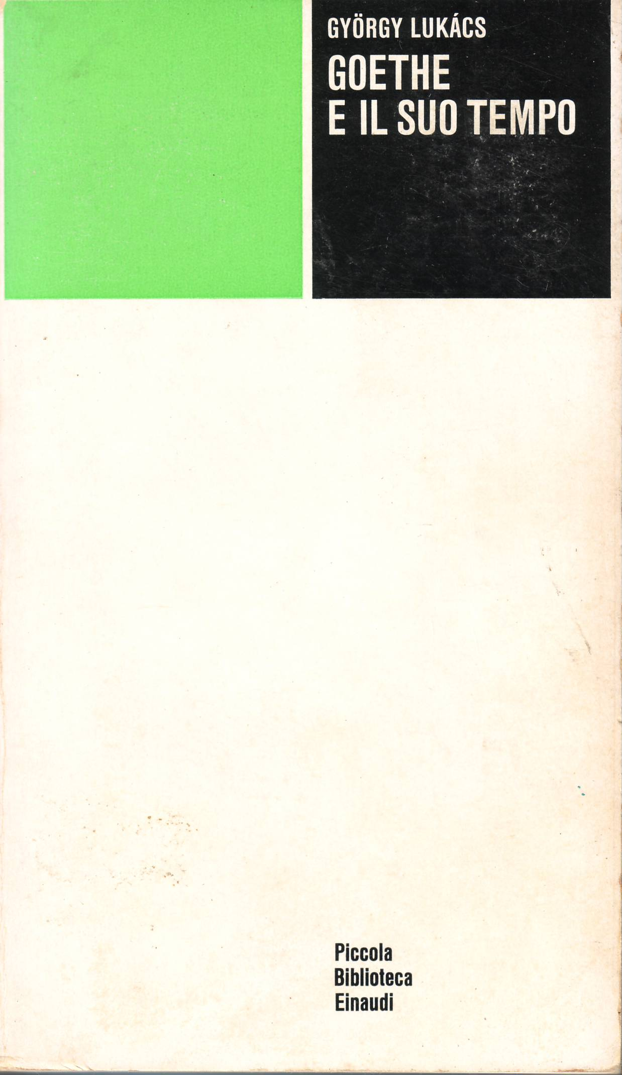 Image of Goethe e il suo tempo