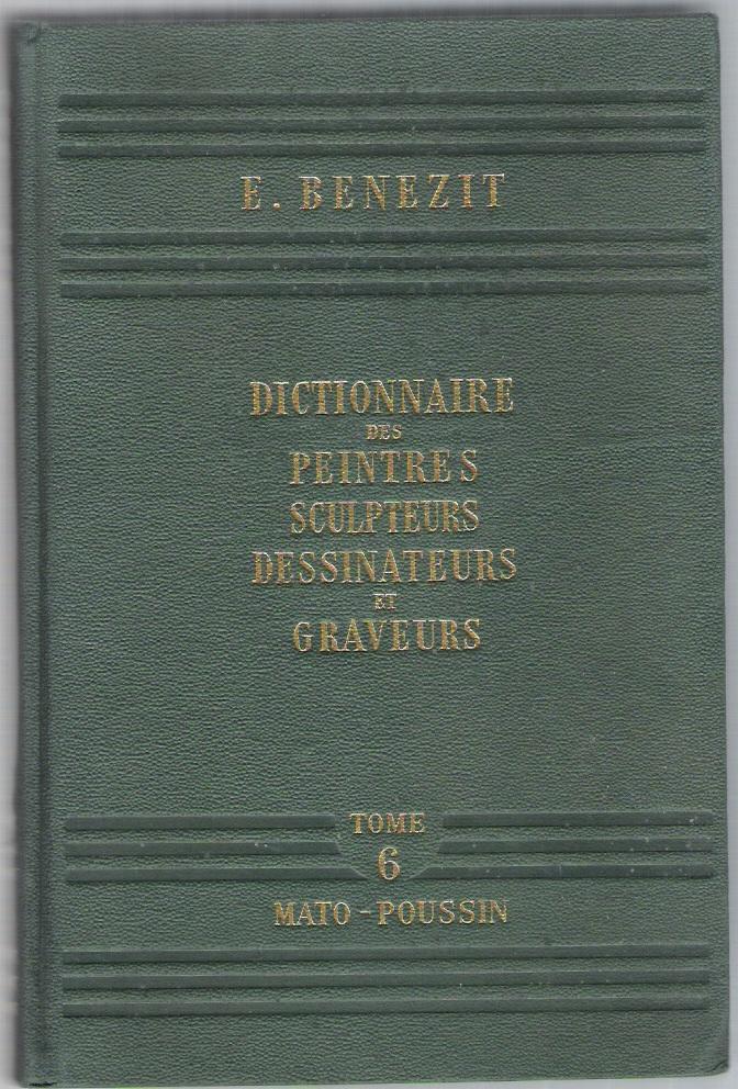 Image of Dictionnaire critique et documentaire des peintres, sculpteurs, dessinateurs et graveurs - tome 6