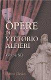 Image of Le opere di Vittorio Alfieri