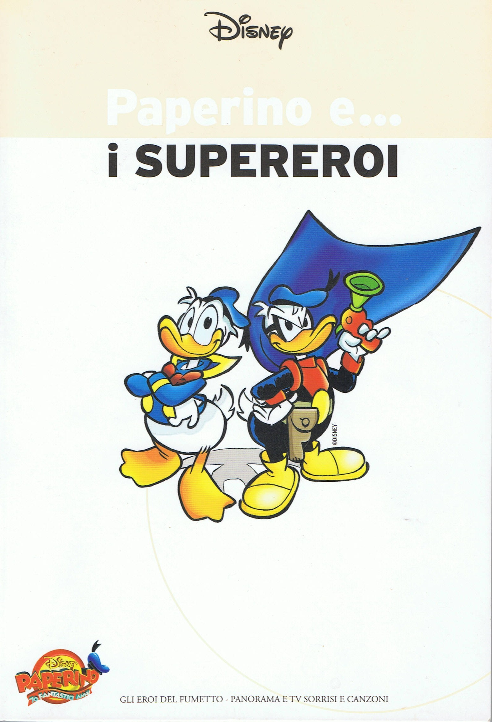 Image of Paperino e... i supereroi
