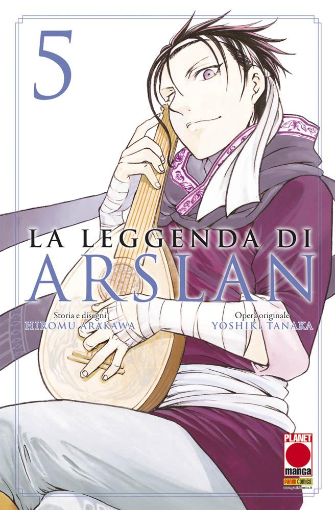 Più riguardo a La leggenda di Arslan vol. 5
