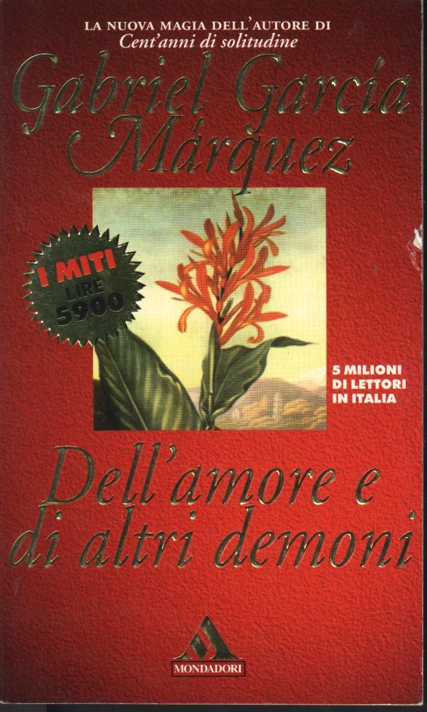 Image of Dell'amore e di altri demoni