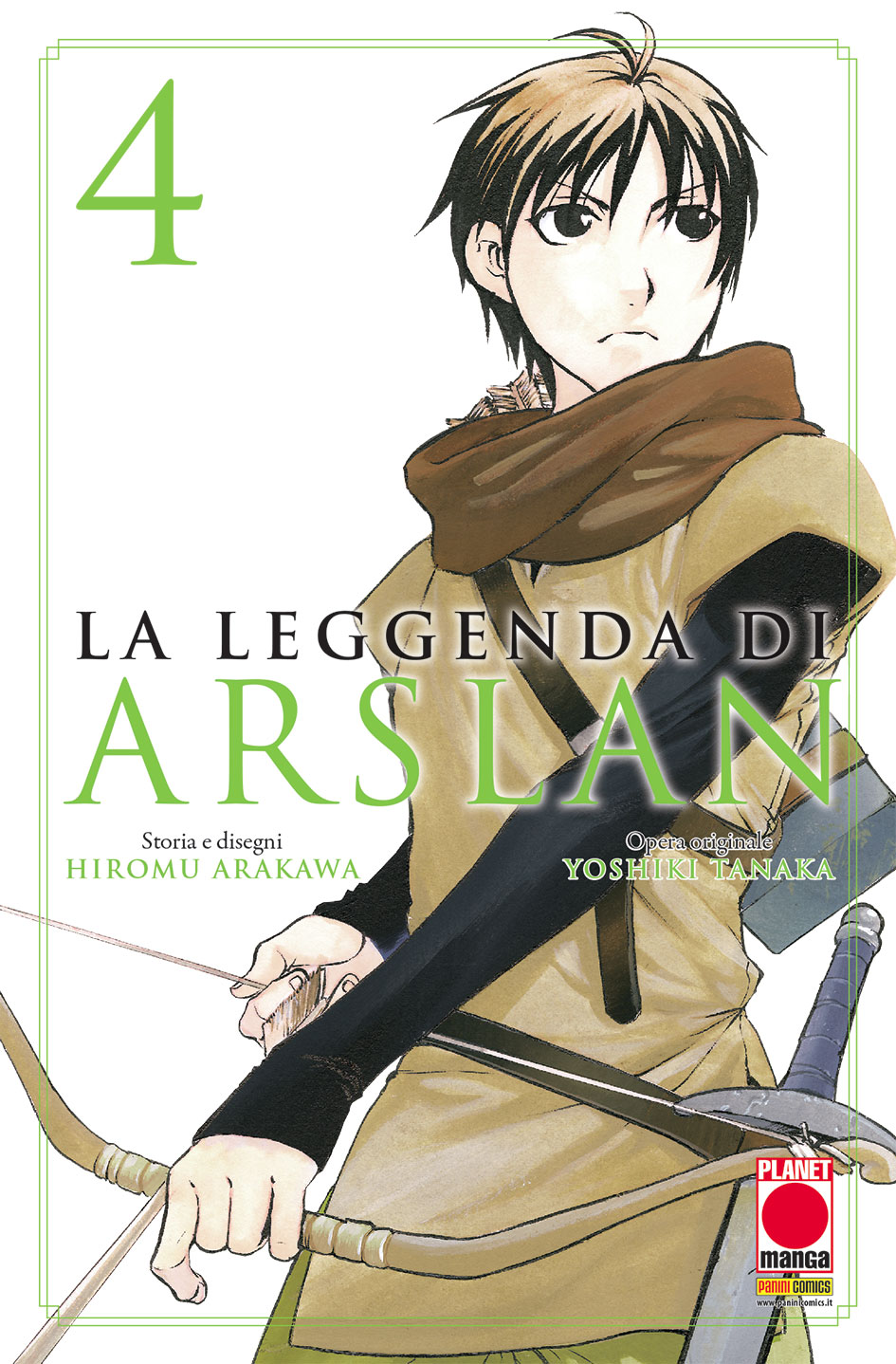 Più riguardo a La leggenda di Arslan vol. 4