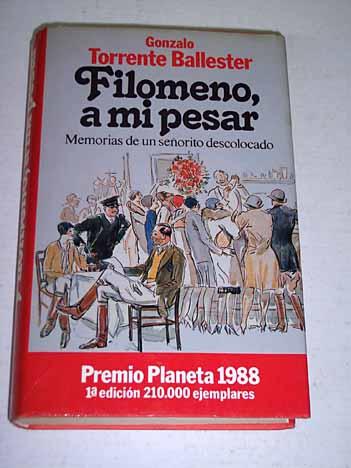 Image of Filomeno, a mi pesar
